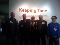 """Keeping Time"" Museum exhibition, Albany International Airport, 2011."